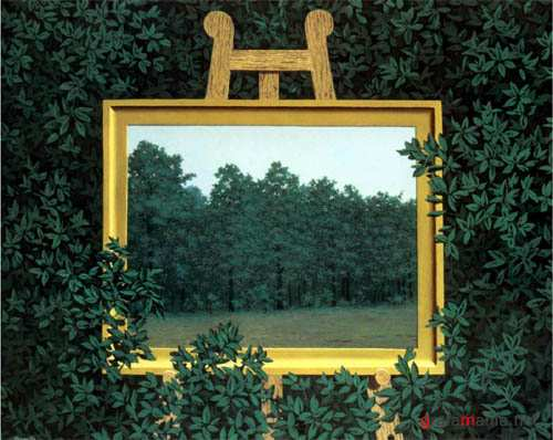 Artwork by Rene Magritte