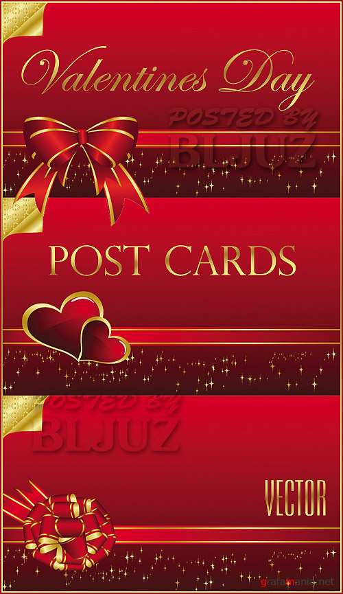 Valentines Post Cards
