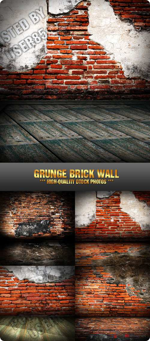 Stock Photo - Grunge Brick Wall