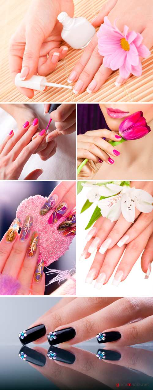 Stock Photo - Manicure