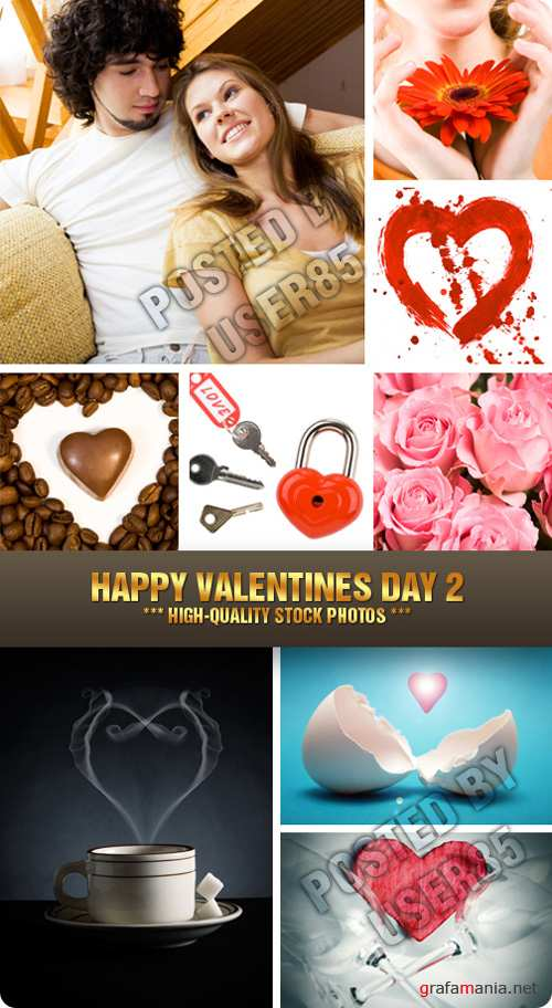 Stock Photo - Happy Valentines Day 2