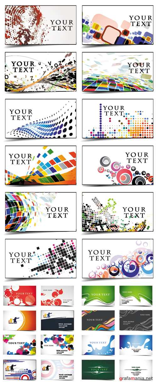 Business Cards Vector 3