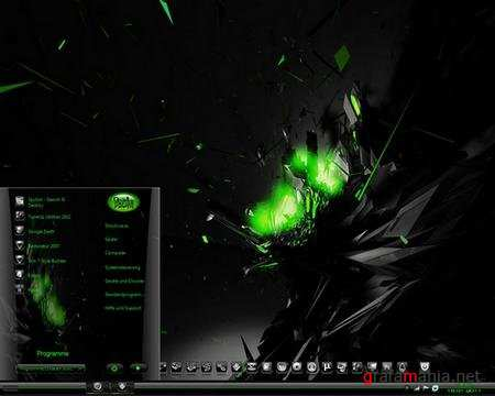 Toxic Green Theme for Windows 7