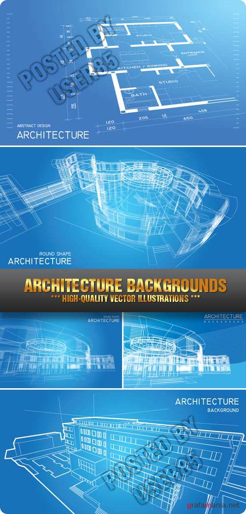 tock Vector - Architecture Backgrounds