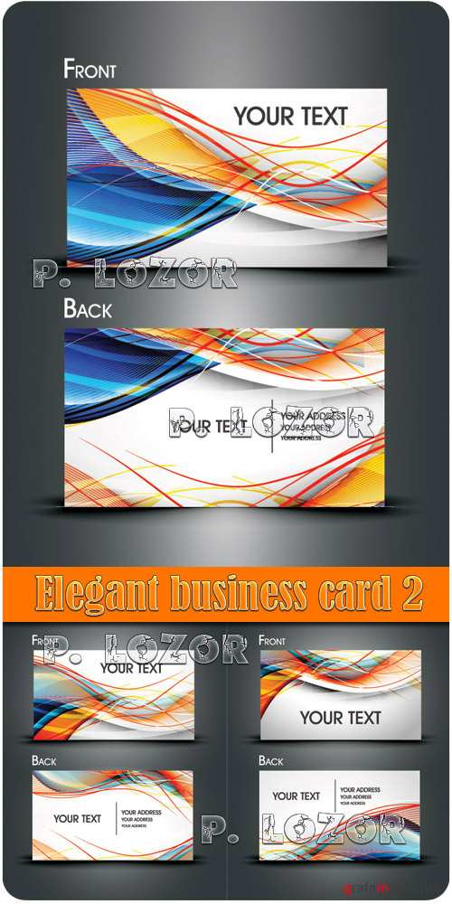 Elegant business card 2