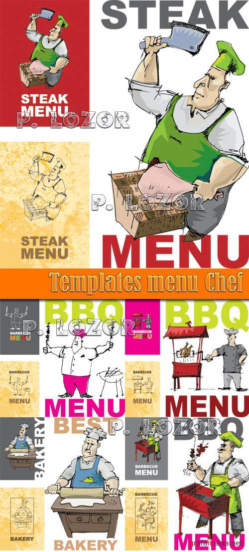 Templates menu Chef