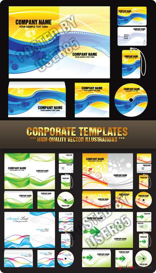 Stock Vector - Corporate Templates