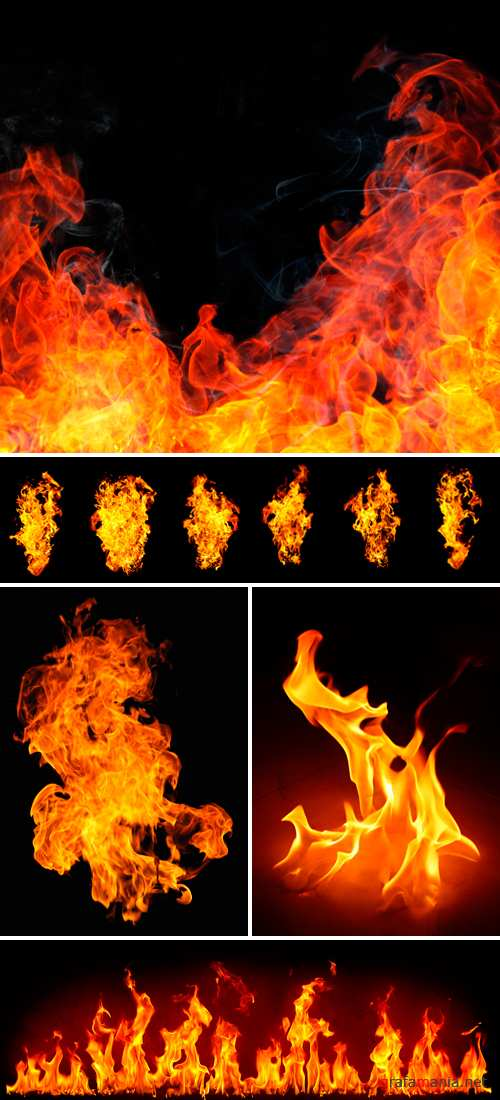 Stock Photo - Fire Flame