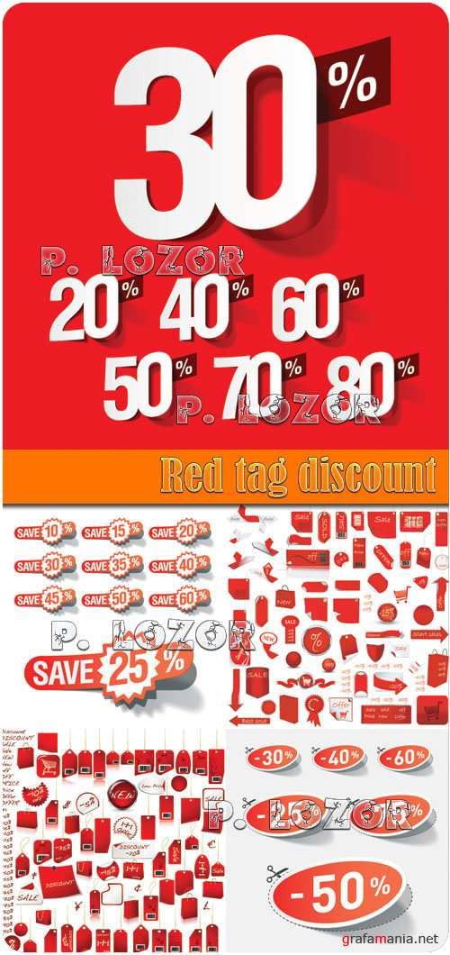 Red tag discount