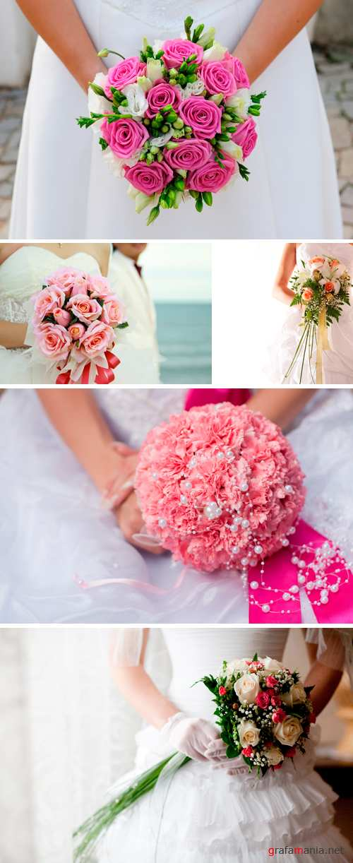 Stock Photo - Wedding Bouquet