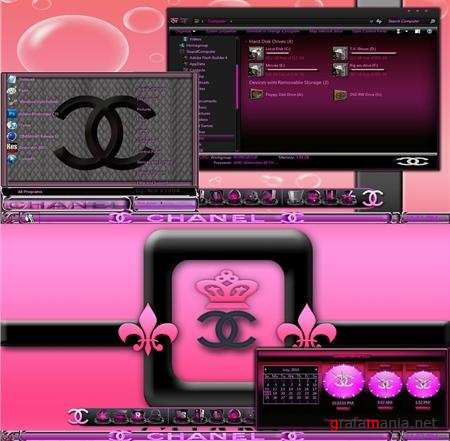 Chanel7 Theme for Windows 7