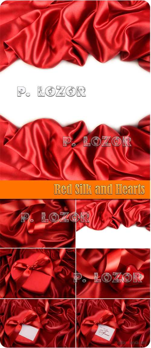Red Silk and Hearts