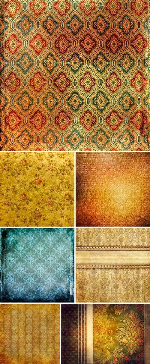 Stock Photo - Vintage Backgrounds 2