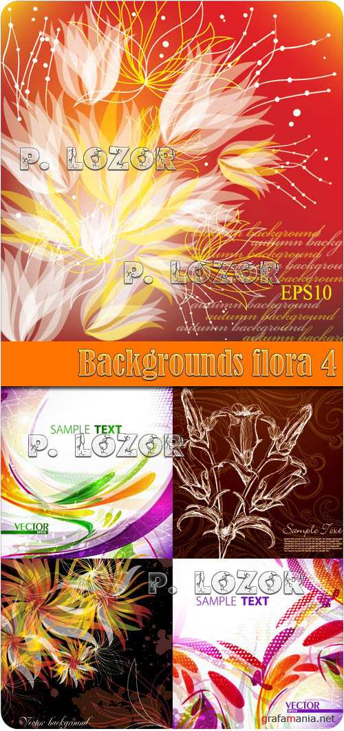 Backgrounds flora 4