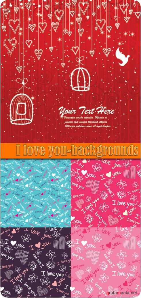 I love you-backgrounds