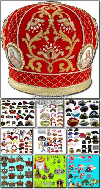 HATS Crowns Tiaras and other headwear