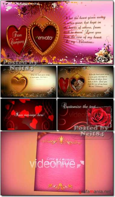 VideoHive After Effects 3 Project for Valentine Day
