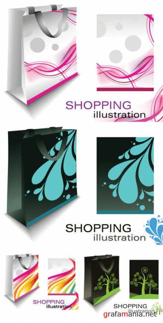 Shopping Bags - Vector