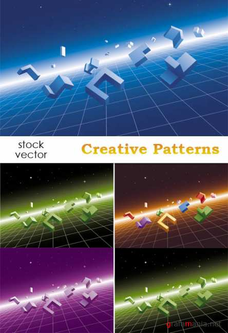 Creative Patterns Vector