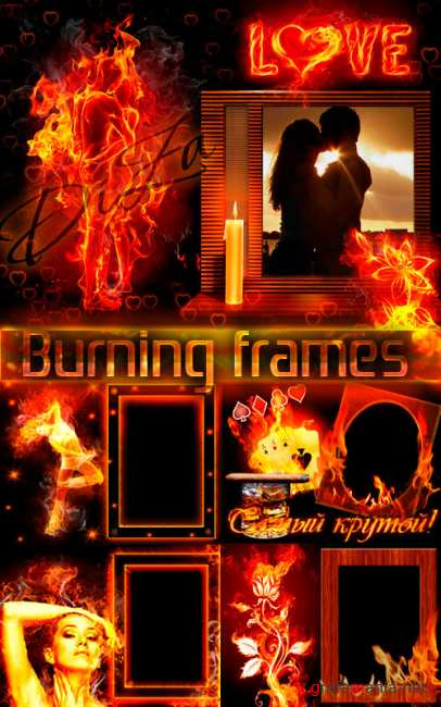 Burning frames