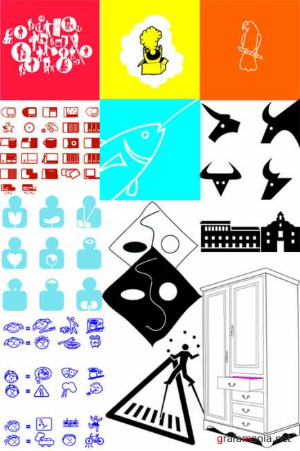 Symbols, Pictograms & Silhouettes - Vector Files
