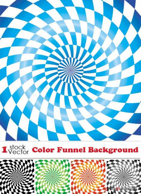 Color Funnel Background Vector