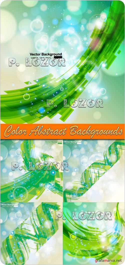 Color Abstract Backgrounds