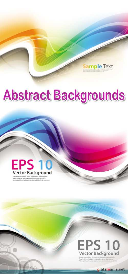 Abstract Backgrounds Vector 4