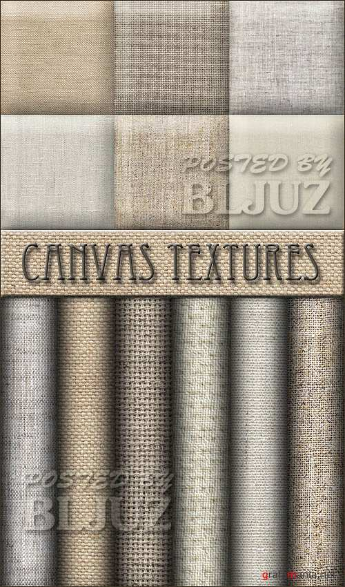Canvas Textures Clipart
