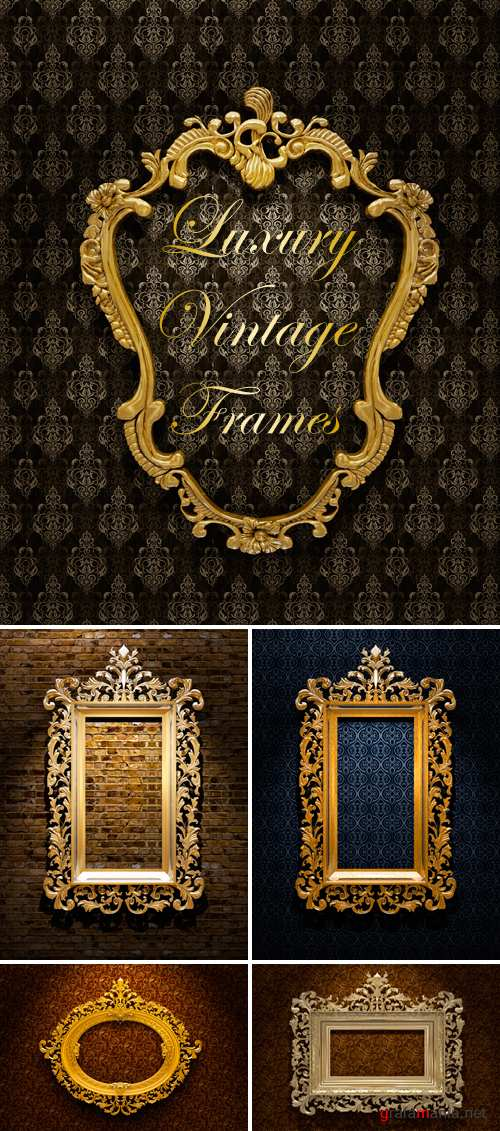 Stock Photo - Vintage Frames 3