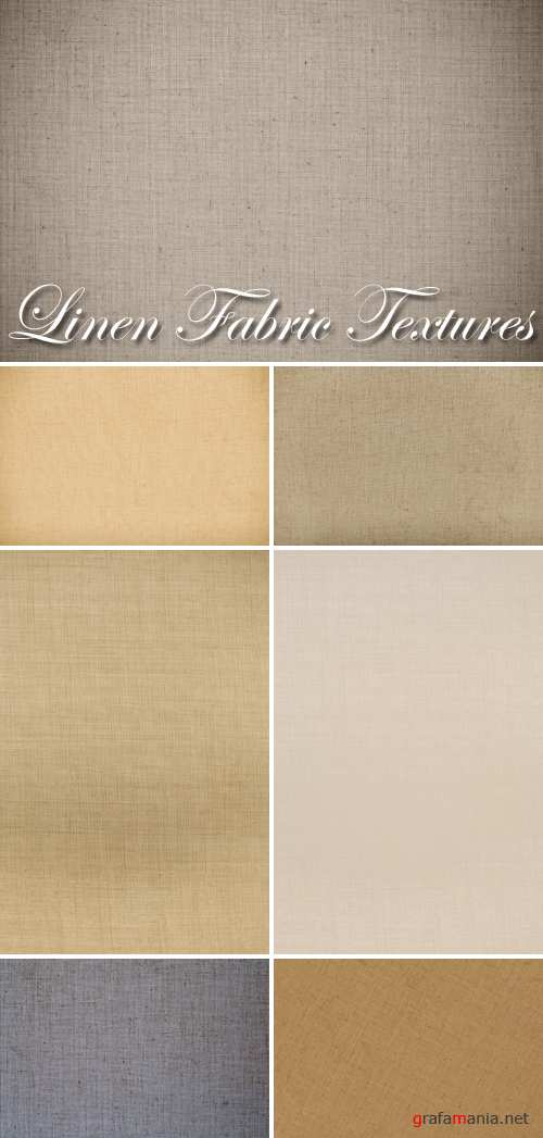Stock Photo - Linen Fabric Textures