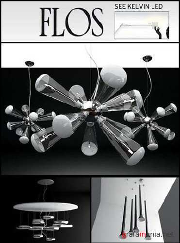 3D Model Lighting Flos