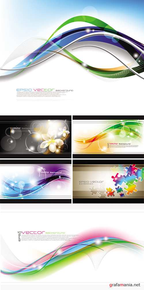 Abstract Backgrounds Vector 5