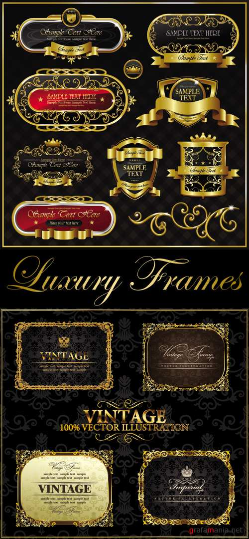 Luxury Vintage Frames 2