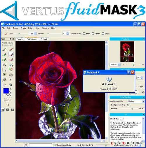 Vertus Fluid Mask 3.2.3