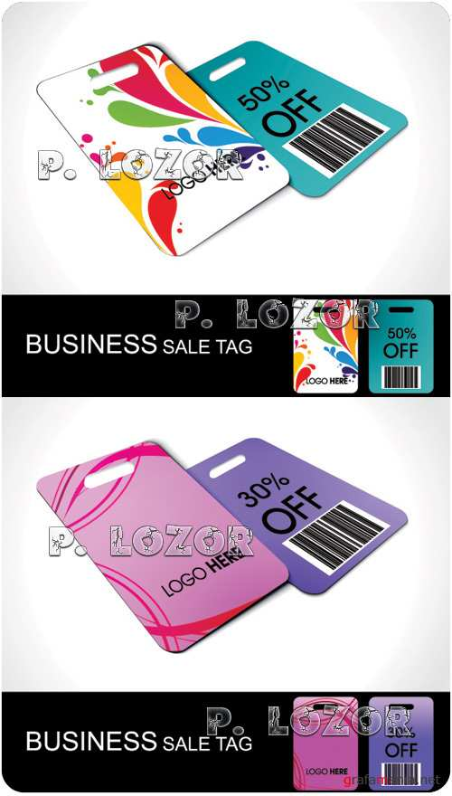 Business Discount tag vector clipart