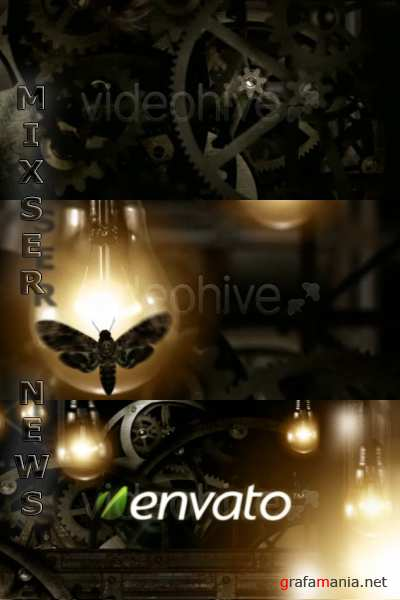 VideoHive - Gears Logo reveal .124563