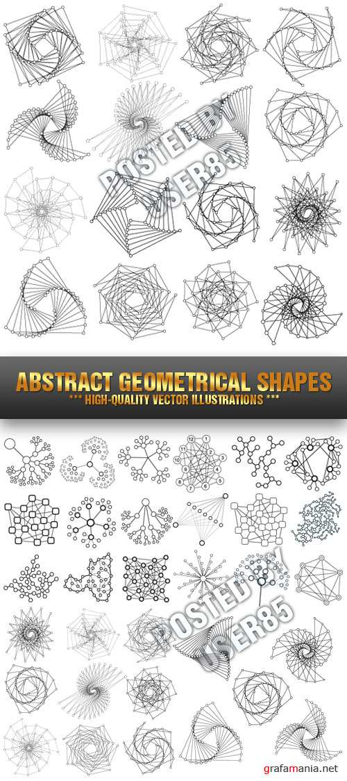 Stock Vector - Abstract Geometrical Shapes