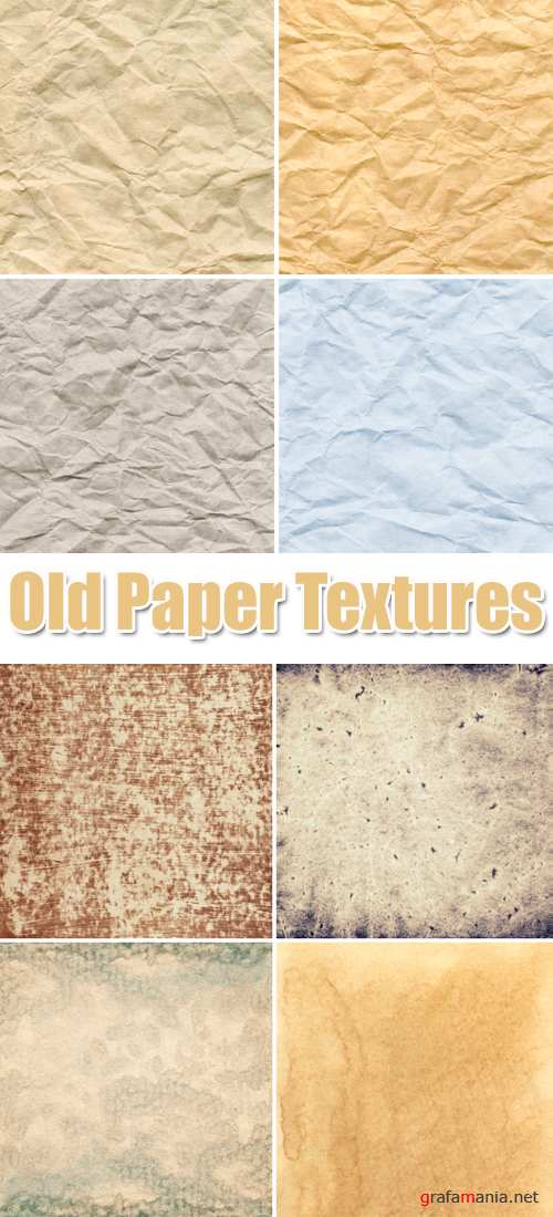 Stock Photo - Old Paper Textures