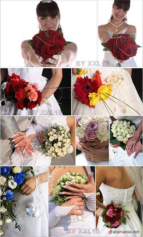 Stock Photo - Bridal bouquet