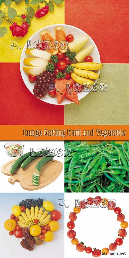 Image Making BC001-004 Fruit and Vegetable