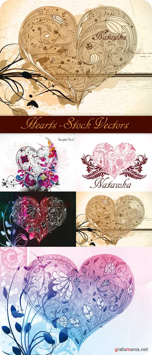 Hearts - Stock Vectors