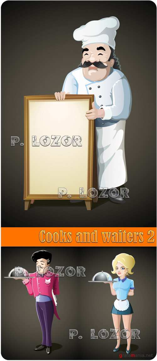 Cooks and waiters 2
