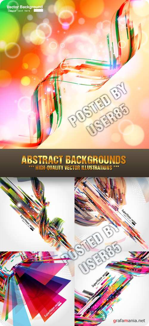 Stock Vector - Abstract Backgrounds
