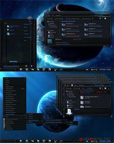Polaris Theme for Windows 7