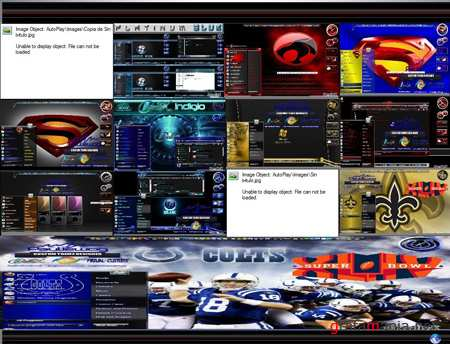 All in one CreativX Themes Windows 7