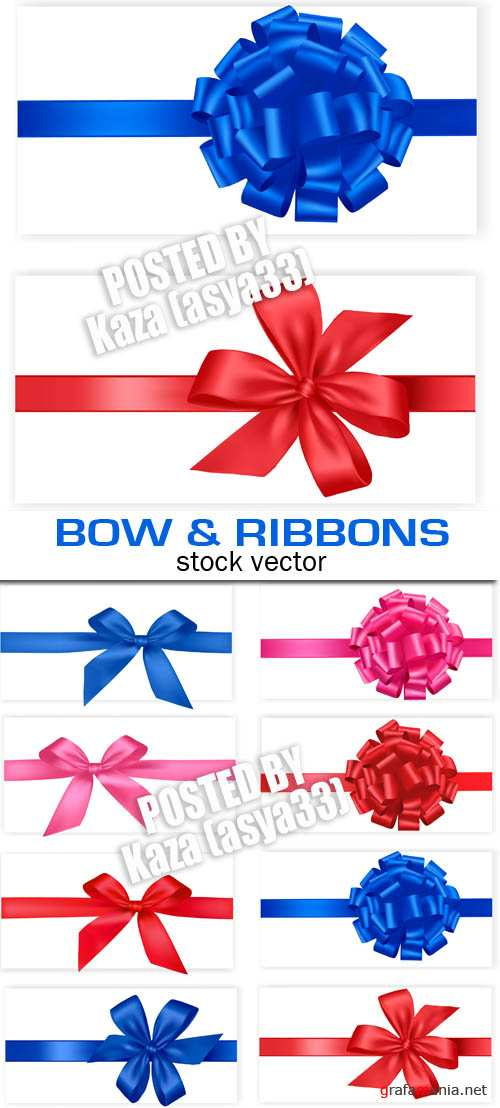 Bow and ribbons 2