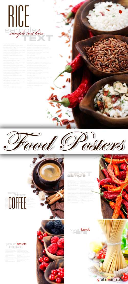 Stock Photo - Food Posters