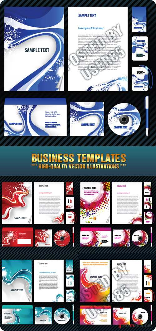 Stock Vector - Business Templates