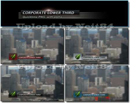 VideoHive motion Corporate Lower Third